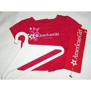 AG American Girl Place Dallas Silver Foil Star Red